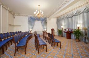 Funeral Room Set Up