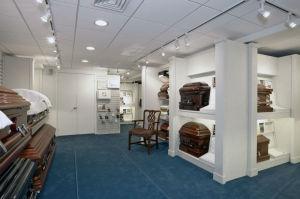 Photo of Casket Showroom