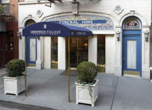 Greenwich Village Funeral Home Entry